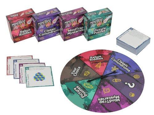 Mind Trap Brain Teaser Board Game