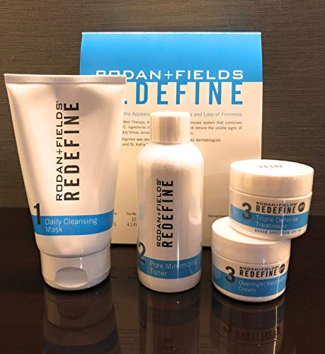 Rodan + Fields Redefine Regimen (Rodan And Fields Reverse Before And After)
