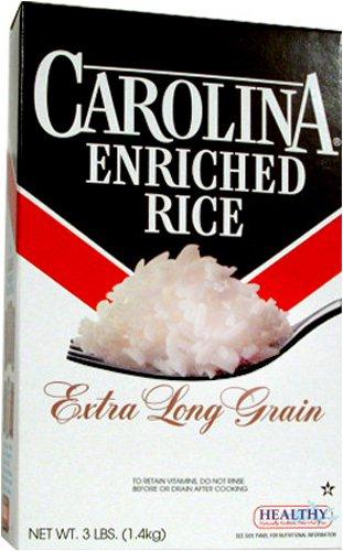 Carolina Rice 3 LB by Carolina