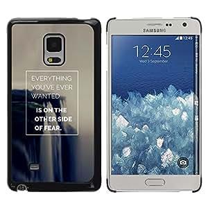 FlareStar Colour Printing Fear Inspiring Success Poster Make It cáscara Funda Case Caso de plástico para Samsung Galaxy Mega 5.8 / i9150 / i9152