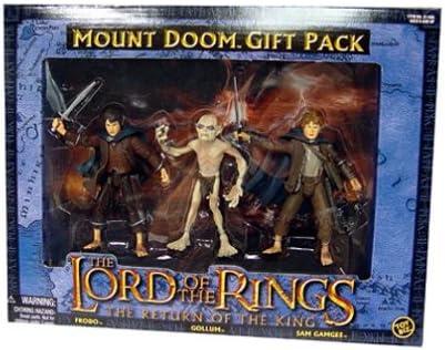 Toy Biz 81465 - El Señor de los Anillos El Retorno del Rey Gift Pack Monte del Destino [importado de Alemania]: Amazon.es: Juguetes y juegos