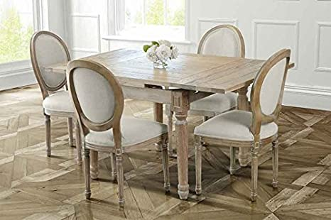 Tavolo Da Pranzo In Francese : My furniture esteban tavolo da pranzo estensibile in stile