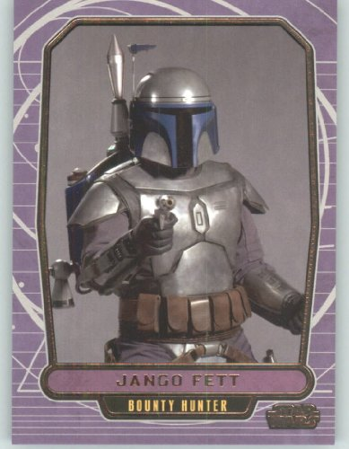 2012 Star Wars Galactic Files #40 Jango Fett (Non-Sport Collectible Trading Cards) from Star Wars