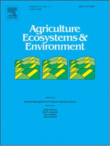 The effect of grass buffer strips on phosphorus dynamics-A critical review and synthesis as a basis for application in agricultural landscapes in ... Agriculture, Ecosystems and Environment]