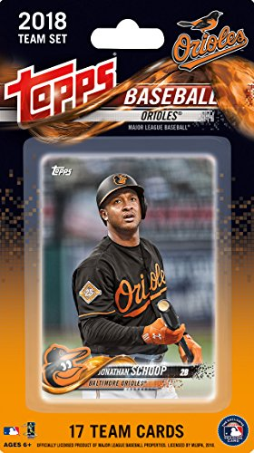 fan products of Baltimore Orioles 2018 Topps MLB Baseball Factory Sealed Special Edition 17 Card Team Set with Manny Machado and Adam Jones Plus