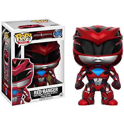 Funko POP Movies: Power Rangers Red Ranger Toy Figure: Funko Pop! Movies:: Toys & Games