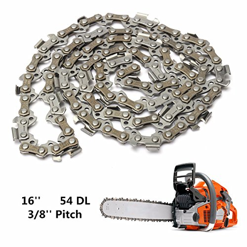 Vivona Hardware & Accessories 16 Inch 54 Drive Substitution Chain Saw Saw Mill Chain 3/8 Inch Links Pitch 050 Gauge