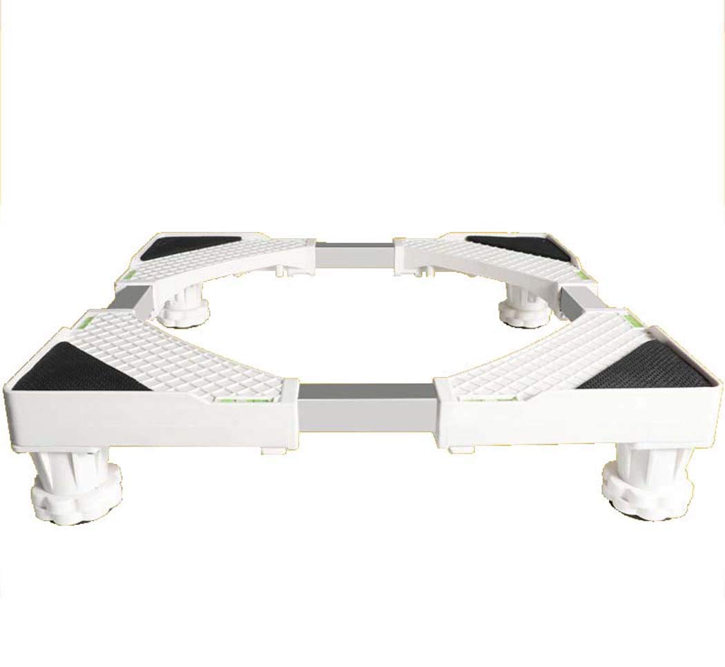 DSHBB Washing Machine Base, Universal Multi-functional Adjustable Base With Casters,Stainless Steel Base For Washing Machine/Refrigerator/Dryer/Cabinet (Size : F4Z)