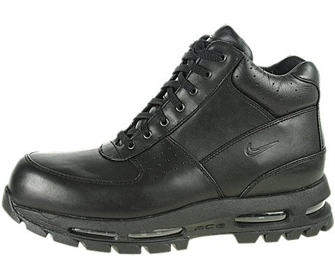 Nike Mens ACG Air Max Goadome Leather Boots Black/Black 865031-009 Size 11.5 (Nike Boots Men Woodside)