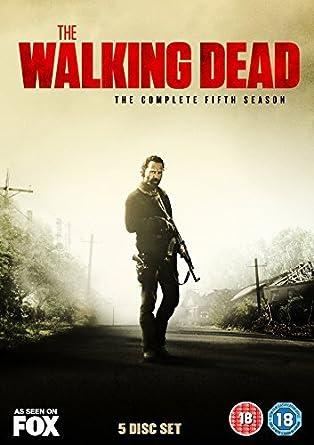 The Walking Dead - Season 5  DVD   Amazon.co.uk  Andrew Lincoln  DVD ... a29b4ffd45de0