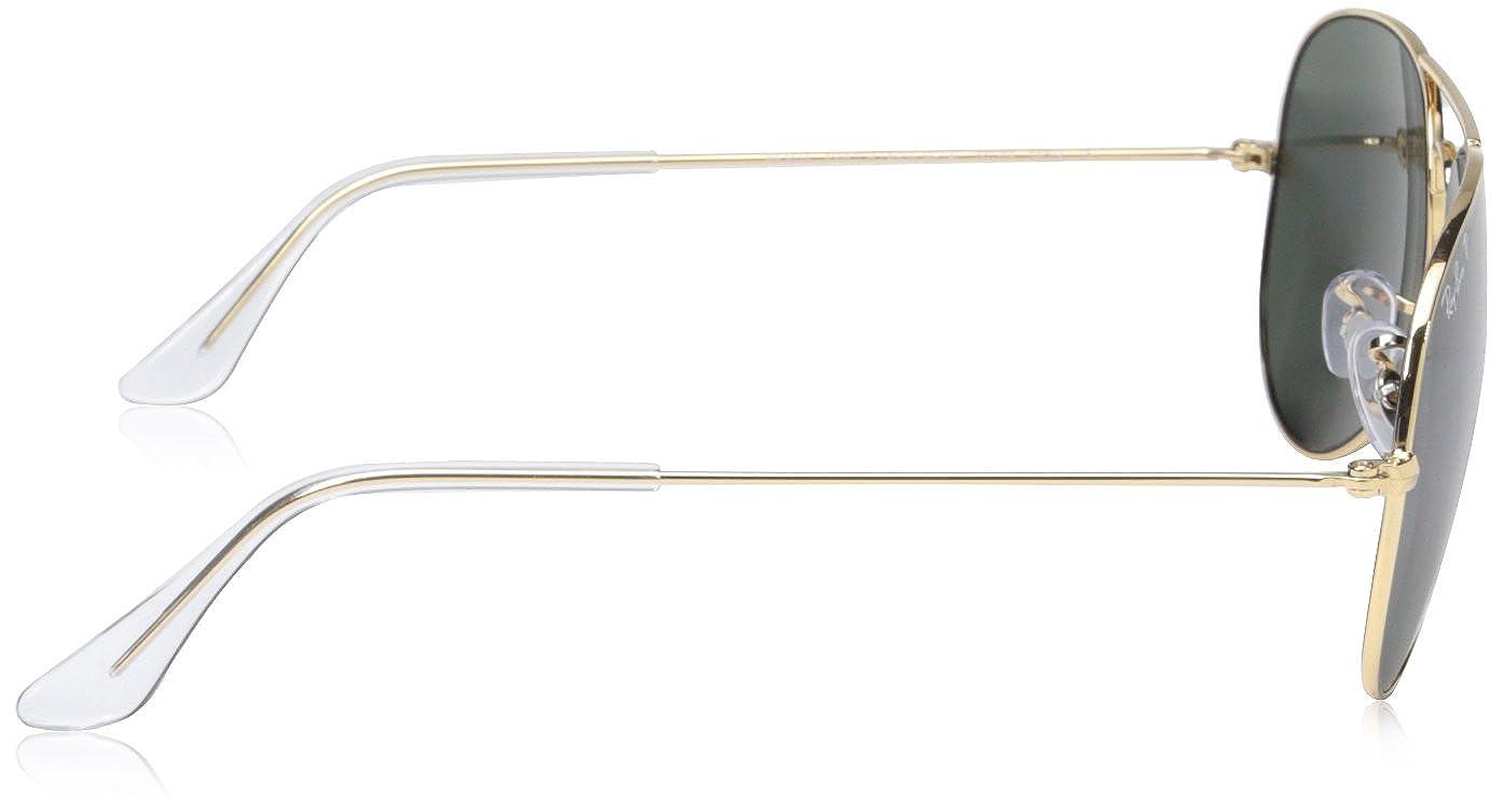 Ray-Ban - Gafas de sol Aviador RB3025 Aviator metal, Gold: Amazon.es: Ropa y accesorios