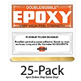 Hardman Double Bubble Orange Toughened Epoxy (High Peel Strength) 25 Packs (#04007)