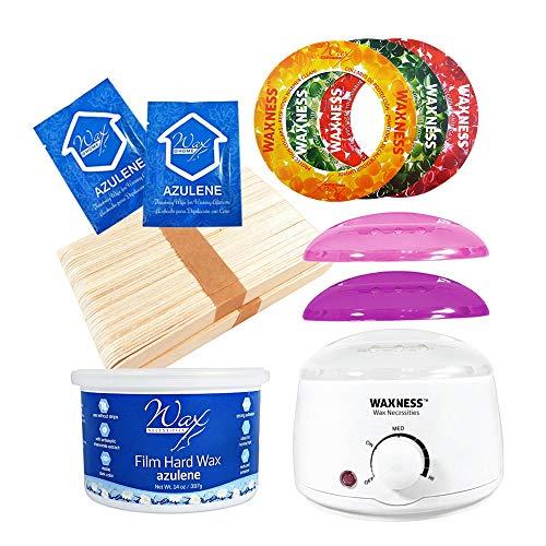 (Wax Necessities Stripless Waxing Kit + Free Plastic Spatula)