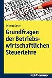 Grundfragen der Betriebswirtschaftlichen Steuerlehre, Egner, Thomas, 3170242237