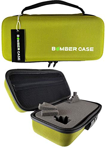 - BOMBER CASE - Combination Lock Box - Smell Proof Case -Stash Case - Customizable Foam Interior - Flexible Construction and Odor Proof Zipper with Combo Lock - Safe Container - 9.5