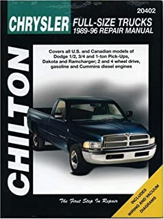 amazon com chilton dodge full size trucks 1997 2001 repair manual rh amazon com 2007 dodge ram 1500 repair manual 2007 dodge ram repair manual