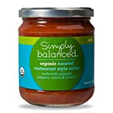 Organic Roasted Restaurant Style Salsa Mild - 16oz - Simply Balanced