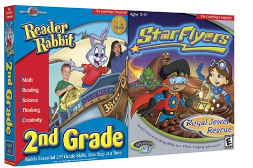 Reader Rabbit 2nd Grade and StarFlyers Royal Jewel Rescue - ()