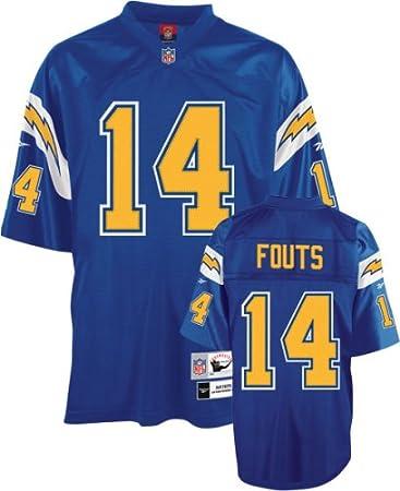 hot sale online 30c6e f486c Amazon.com : Reebok San Diego Chargers Dan Fouts Premier ...