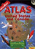 Sticker Atlas of the United States and Canada, John Wright, 0816747997