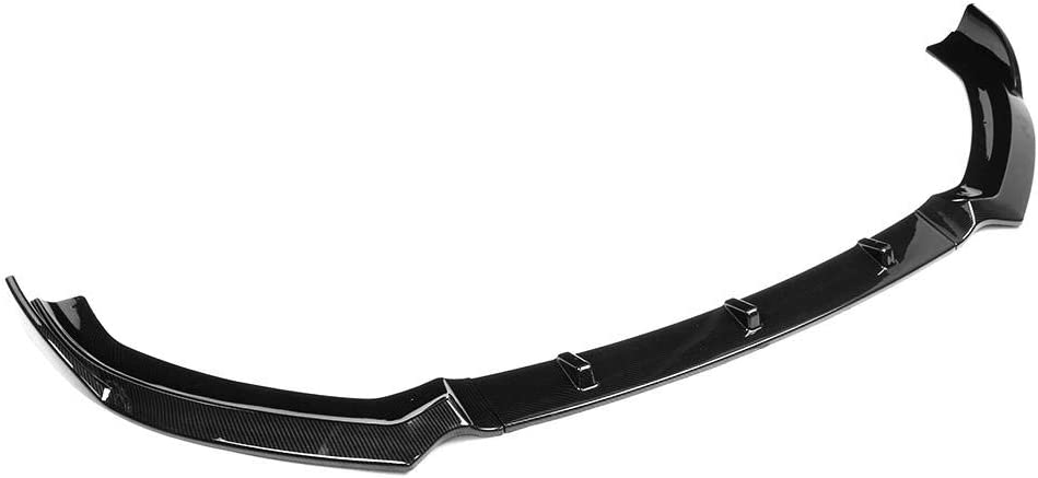 Fibra de carbon Yctze Spoiler frontal de labios para S3 Style Front Bumper Spoiler frontal para A3 S-Line 8V 2017-2018