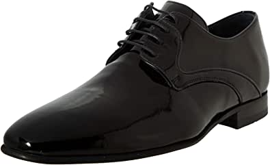 black moustache Oxfords and Wingtip Shoes For Men, Size 44 EU, Color Black