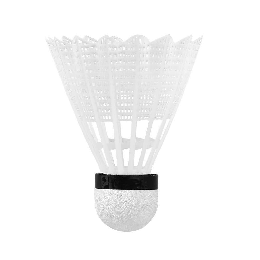 VGEBY 6pcs balles de Badminton Volants de Badminton en Plumes doie Blanche Volants naturels Volants Ballons de Badminton en Salle de Sport en Plein air