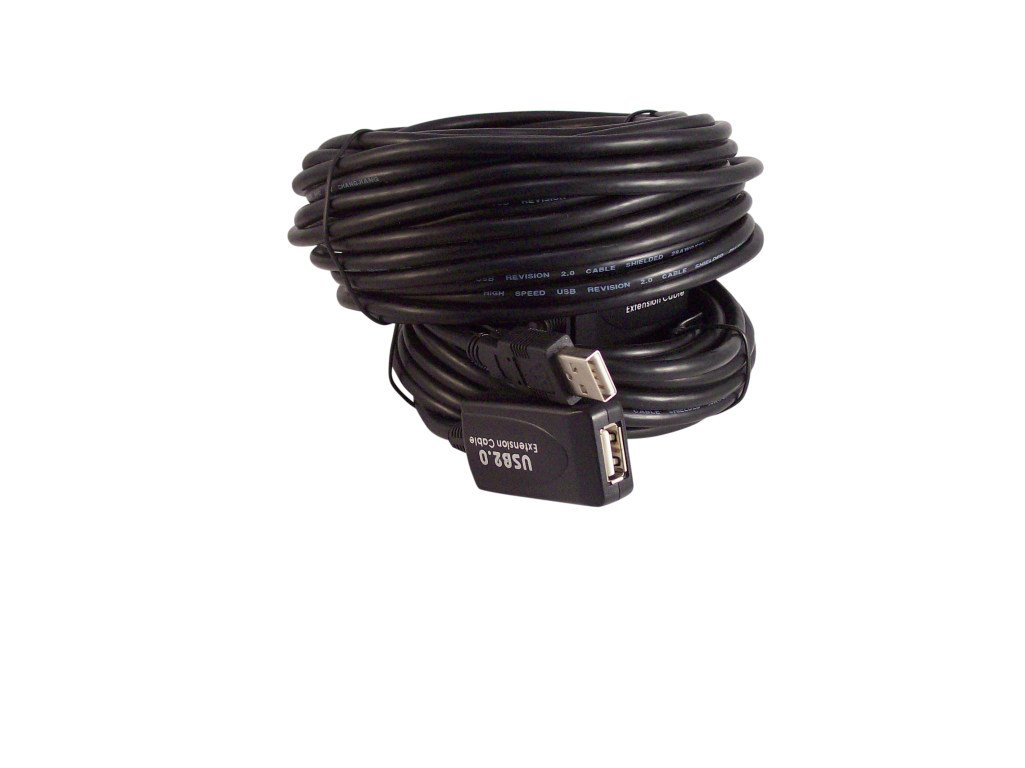 Your Cable Store 50 Foot USB 2.0 High Speed Active Extension / Repeater Cable
