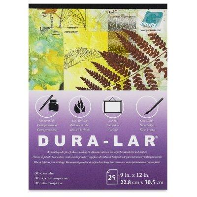 Grafix Clear 0.005 Dura-Lar Film Roll, 40-Inch by 12 Feet