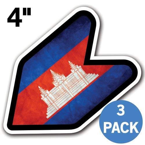 (MFX Design [3 Pack] Cambodia - 4