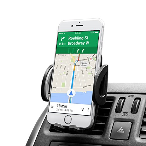 Car Mount AVANTEK Universal Cell Phone Air Vent Car Mount Holder for iPhone 6  6 Plus  5S  5C  4S Samsung Galaxy S6  S6 Edge  S5  S4  S3  Note 43 Google Nexus 54 LG G4 Nokia Xperia Moto HTC