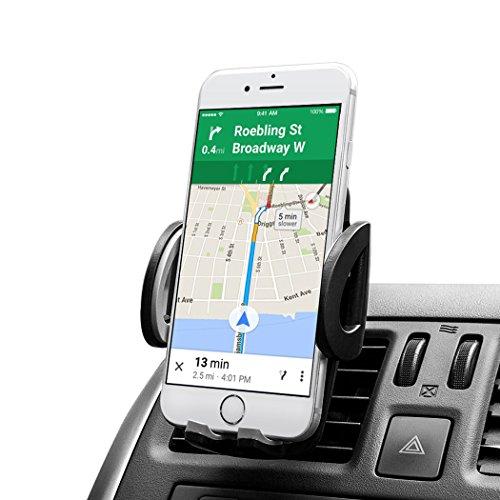Car Mount AVANTEK Universal Cell Phone Air Vent Car Mount Holder for iPhone 6  6 Plus  5S  5C  4S Samsung Galaxy S6  S6 Edge  S5  S4  S3  Note 43 Google Nexus 54 LG G4 Nokia Xperia Moto HTC