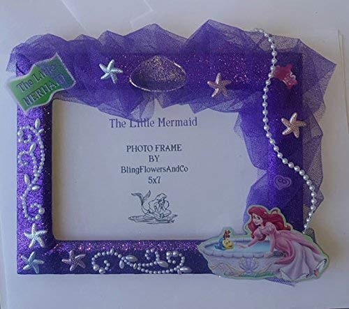 Amazoncom Ariel Picture Frame The Little Mermaid Handmade