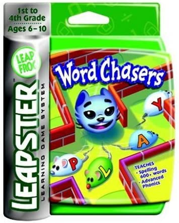 Leapfrog Leapster 2 L Max Game Buy 4 Get One Free Word Chasers Free Shipping