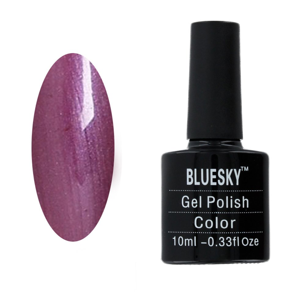 Bluesky BLUA78 UV/LED Gel Soak Off Nail Polish, Autumn Purple Blu A78