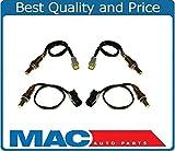 Mac Auto Parts 139404 QX56 Armada Titan 5.6L Front & Rear Oxygen Sensors (4) O2 Sensor