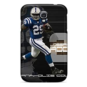 Samsung Galaxy S4 RVV10752PCKx Provide Private Custom HD Indianapolis Colts Pattern Shock Absorption Cell-phone Hard Covers -AaronBlanchette