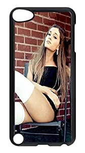 Cheap Case Cover for Ipod Touch 5,Ariana Grande phone case,DIY Cell Phone Case with Singer.