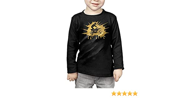 CERTONGCXTS Baby Boys Kids Got Dirt Bike Motorcross Racing ComfortSoft Long Sleeve Tee