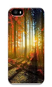 iPhone 5 5S Case Autumn Forest 3D Custom iPhone 5 5S Case Cover