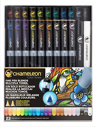 Chameleon Art Products, Chameleon 22-Pen Deluxe Set by Chameleon