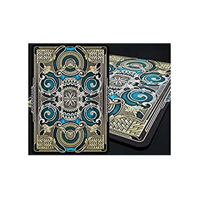 Gamblers Warehouse Playing Cards | Bicycle Mystique Playing Cards (Blue)| Custom Design | Collectable: Toys & Games