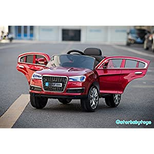 Audi-Q7-Style-Ride-On-Toy-Car-For-Kids-With-Remote-Control-12V-Battery-Operated-Red-CDM