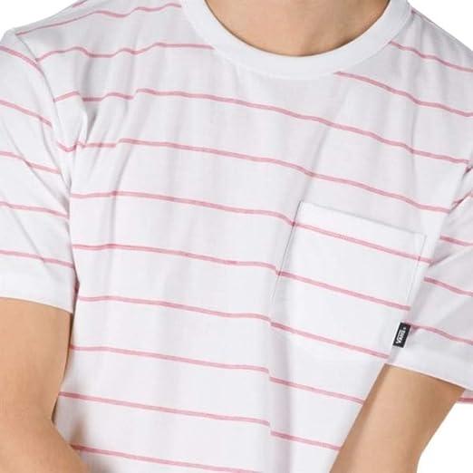 Vans VN0A3W2WWHT Maglietta da uomo Off The Wall foderata