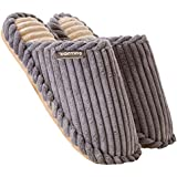 Men's Plush Warm Slippers Indoor Home Slippers Shoes
