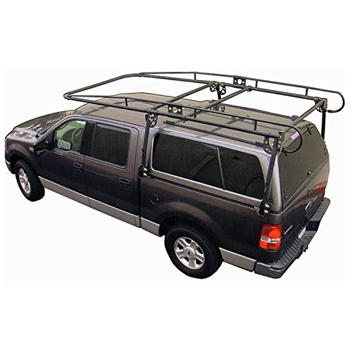 Paramount Restyling 19601 Full Size Camper Shell Contractors Rack for Long-Short Bed