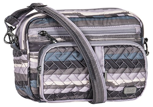 Lug Women's Carousel Mini Cross Body Shoulder Bag, Painted Pearl, One Size Cargo Mini Bag