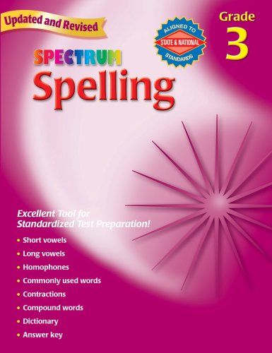 Halloween Spelling Words Grade 3 (Spectrum Spelling, Grade 3)