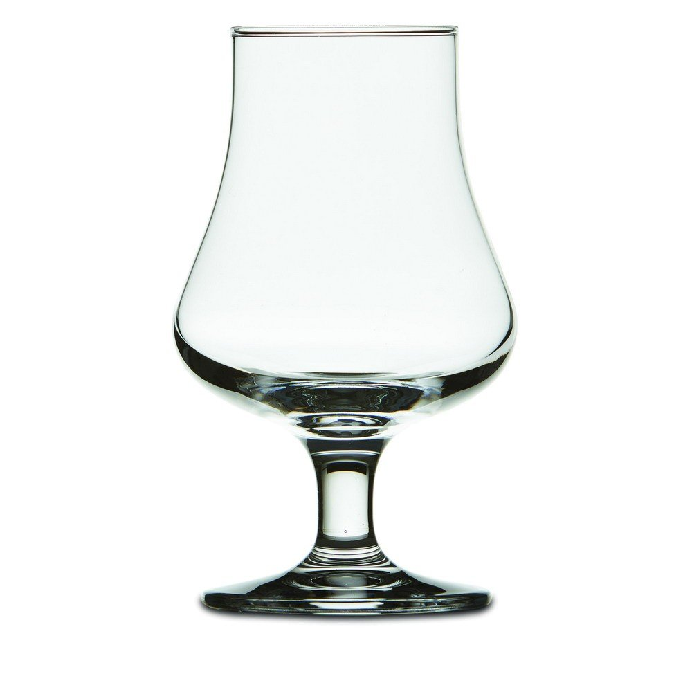 Brilliant - Highland Tasting and Nosing Scotch Glass on a Short Stem, 6.75oz. (Set of 6)