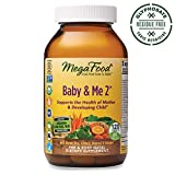 MegaFood, Baby & Me 2, Prenatal and Postnatal Vitamin, Dietary Supplement with...